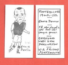 West Ham United Ernie Devlin 225